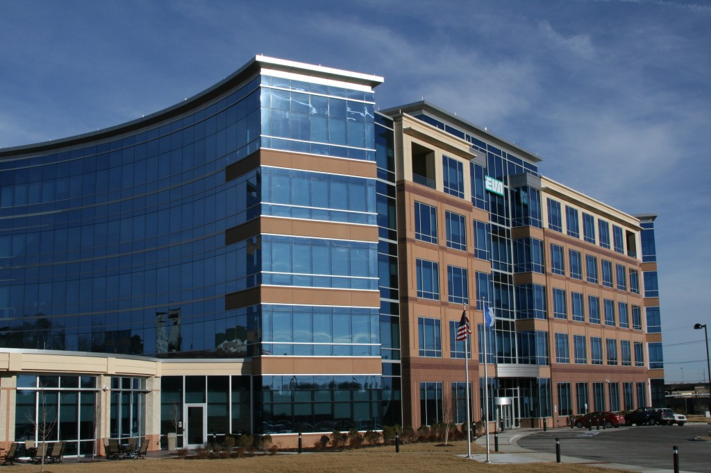 The Teva building used multi-colored panels with sandblast and exposed aggregate finishes.  Inlaid brick accents were also used.